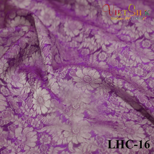lụa tơ tằm họa tiết hoa cúc 16